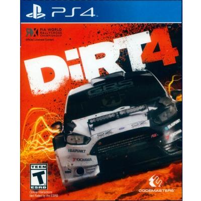 大地長征 4 DiRT 4 -PS4 英文美版