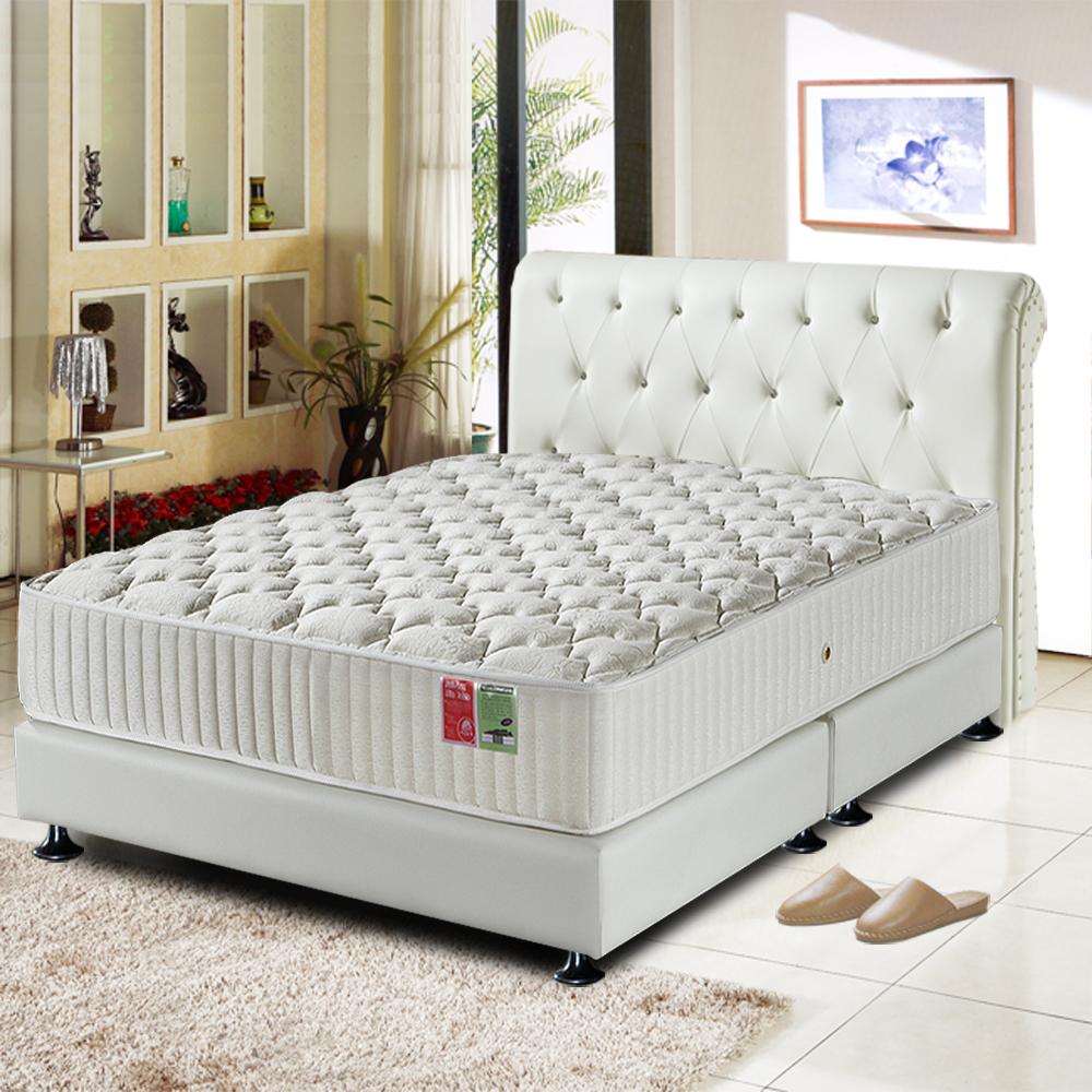 Ally愛麗 飯店用麵包型蜂巢獨立筒床墊-雙人加大6尺