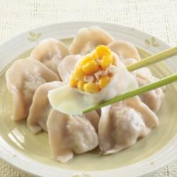 台北士東市場123水餃 玉米豬肉水餃(10顆/盒)