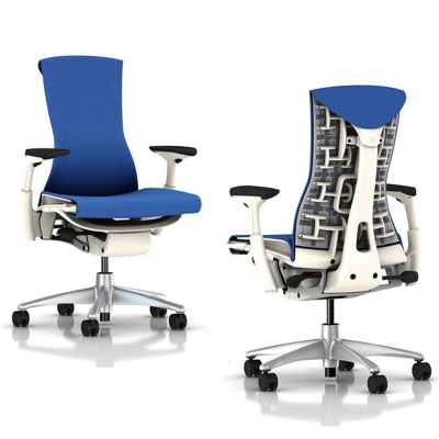 Herman Miller 人體工學椅-Embody Chair-白框頂級旗艦款厚布款-三色可選