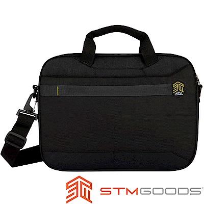 澳洲 STM Chapter 耐摔防潑水 15吋側背包 - 黑