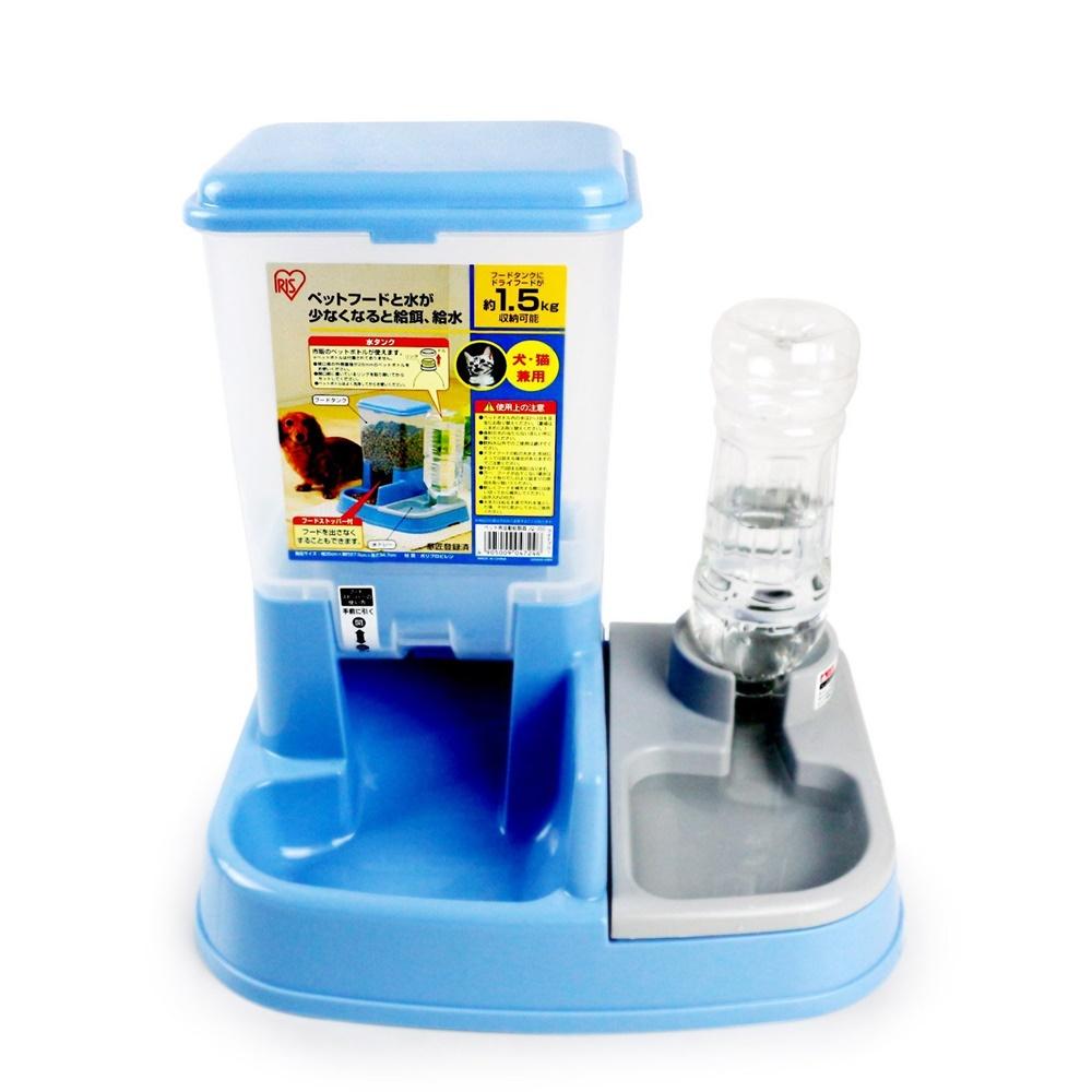 日本IRIS 自動給食器 藍色(JQ-350-1)