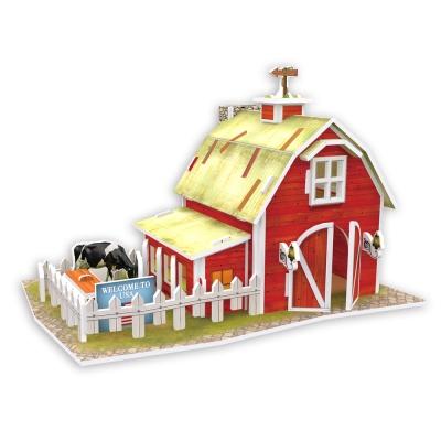 世界之窗 3D立體拼圖 美國 清境農場 3D World Style