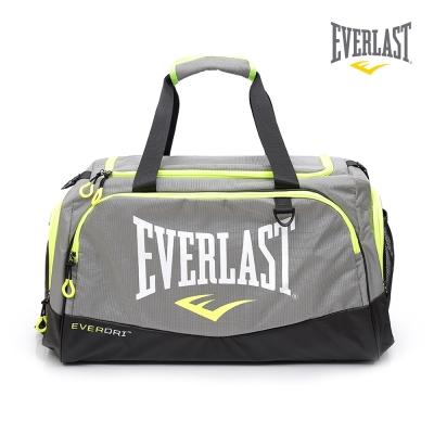 EVERLAST 拳擊 品牌~休閒旅行包~灰