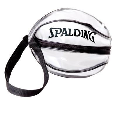 SPALDING 單顆裝籃球瓢蟲袋 黑