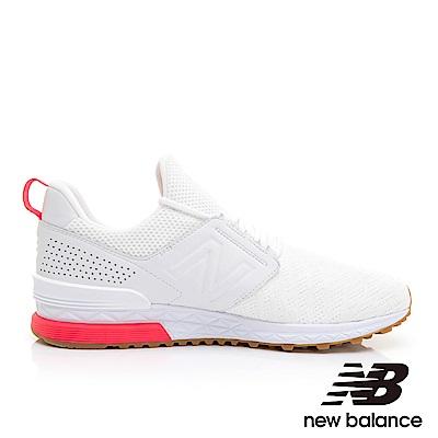 New Balance 復古鞋 MS574DFP-D中性白色