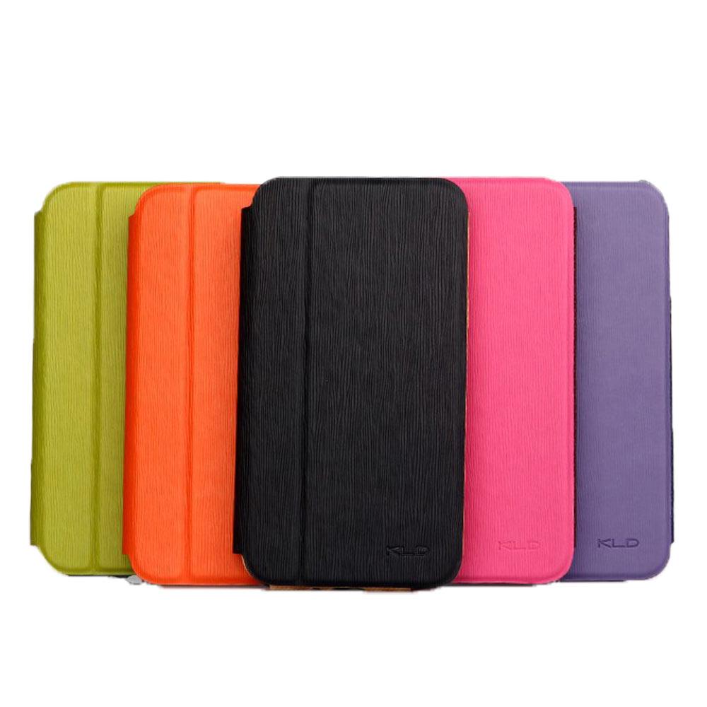 卡來登 SAMSUNG  Note / i9220  彩逸側掀式皮套(紫色)