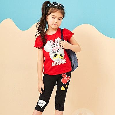 Disney 米妮系列歡樂愛心彈力棉褲 (3色可選)