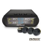 PAPAGO ! TireSafe S60E無線太陽能胎外式胎壓偵測器-胎外式-急速配