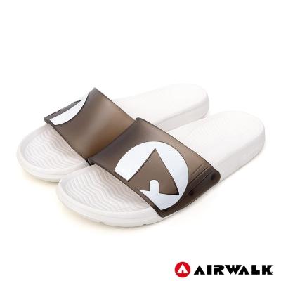 AIRWALK - 水漾果凍AB拖-黑白