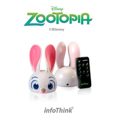 InfoThink Zootopia USB兔子燈 (附遙控器)