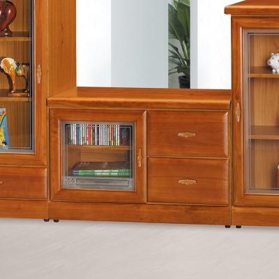 Bernice-法斯特3尺實木電視櫃-90x45x61cm