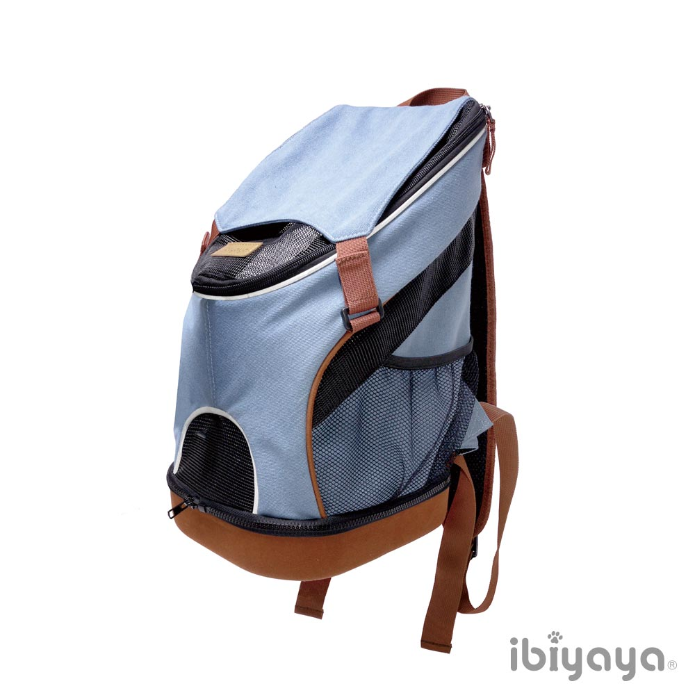 IBIYAYA依比呀呀-FC1631單寧瘋輕量寵物前/後背包