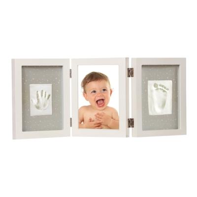 Adora珍愛回憶系列 寶寶手足模印相框(豪華桌上型)