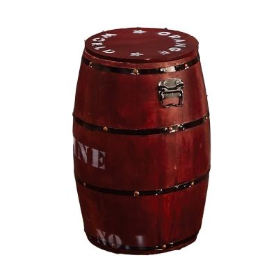 Boden-特色木桶收納餐椅(四色可選)-32x32x46cm