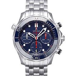 OMEGA 歐米茄 Seamaster 300米計時藍面腕表-41.5mm
