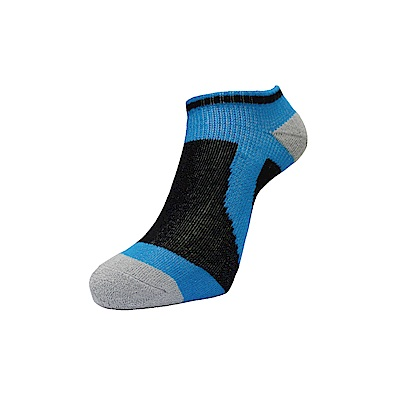 AREX SPOR 足弓支撐機能腳踏車襪-男-藍黑