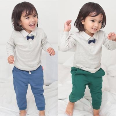 baby童衣 立體剪裁素色長褲 70089