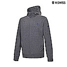 K-Swiss Track Knit Jacket 運動連帽外套-男-灰