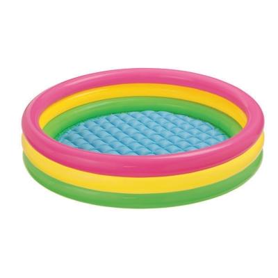 INTEX 三圈炫彩游泳池(147cmx33cm)