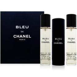 CHANEL香奈兒 藍色男性隨身淡香水(20mlx3入)