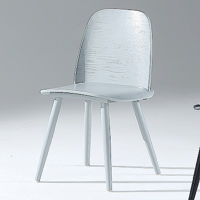 AS-安格斯灰色餐椅-45x45x86cm
