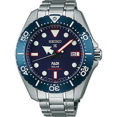 SEIKO Prospex PADI 聯名限量太陽能鈦金屬腕錶(SBDJ015J)