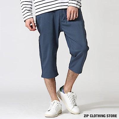 清涼感彈性七分褲(9色) ZIP日本男裝