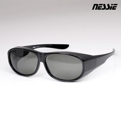 Nessie尼斯眼鏡-偏光太陽眼鏡-全罩(耀石黑)
