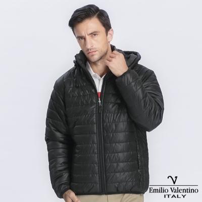 Emilio Valentino 范倫提諾輕量保暖外套-黑