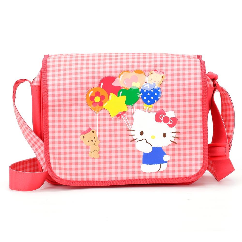 Sanrio HELLO KITTY繽紛氣球系列側背書包