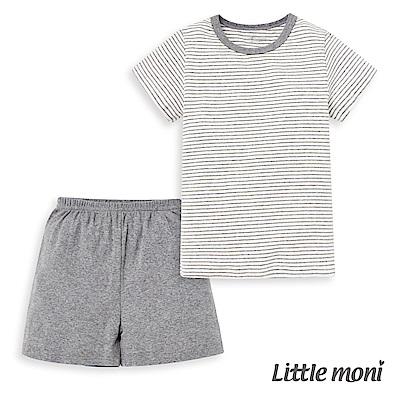 Little moni 家居系列短袖套裝(兩件組)(4色可選)