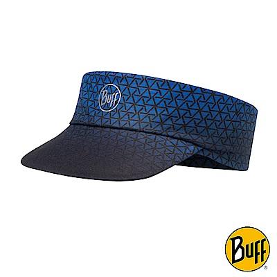 《BUFF》Coolmax抗UV可捲收頂空帽 深藍結構 BF117216-715-10