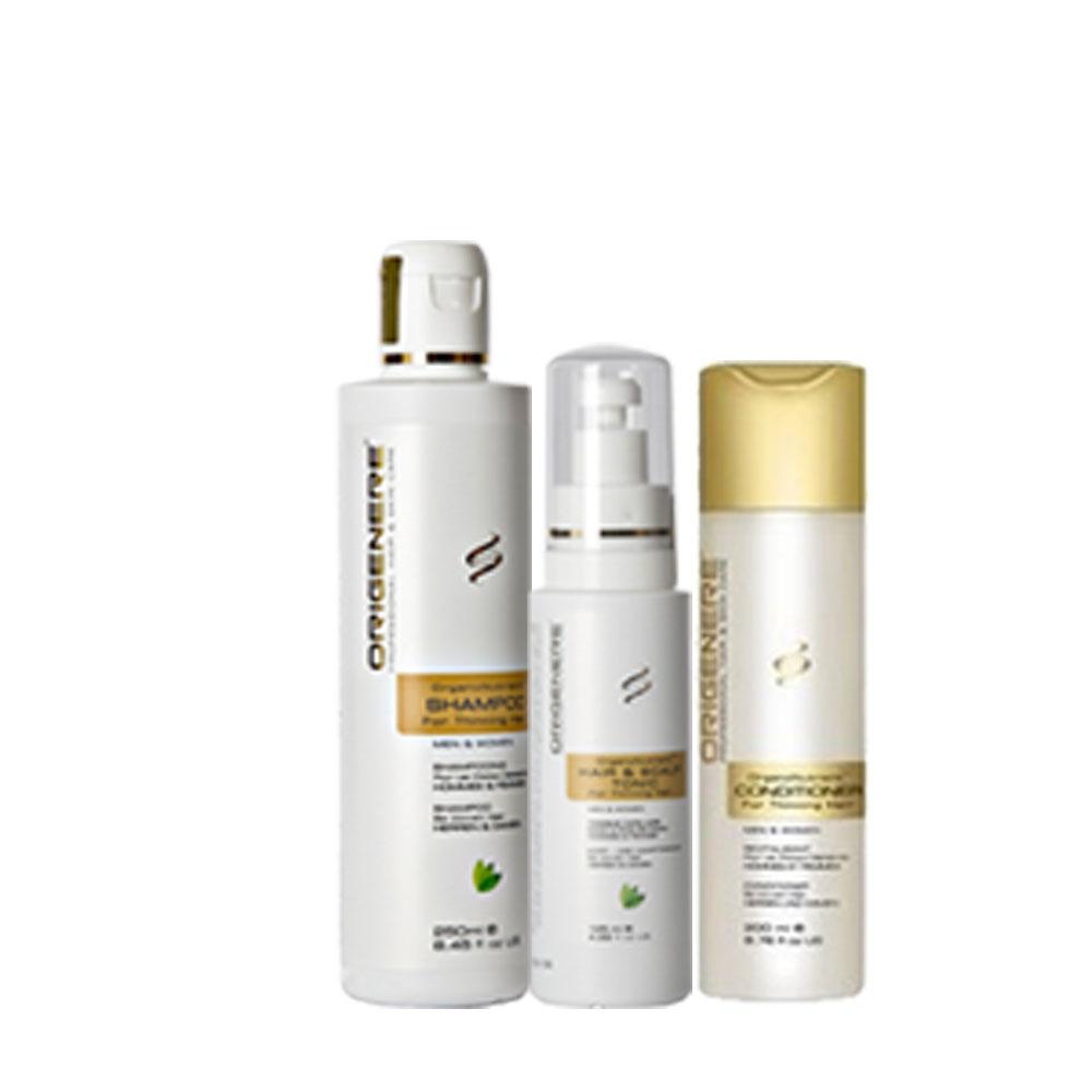 歐麗淨SR鋸棕櫚洗護養組(洗髮精250ml+滋養精華200ml+養髮液125ml)