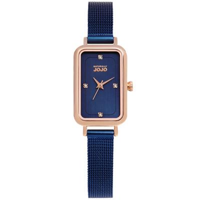 NATURALLY JOJO 閃耀舞臺米蘭時尚腕錶-JO96915-55R-20X30mm