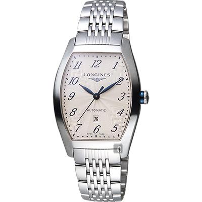 Longines 浪琴 Evidenza 典藏機械腕錶-銀/31mm