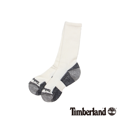 Timberland 白色排汗休閒半筒襪(3入組)