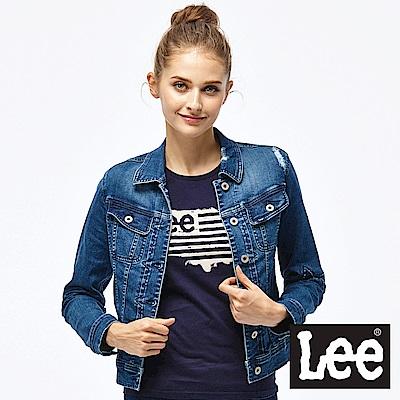 Lee 小破壞牛仔外套-女款