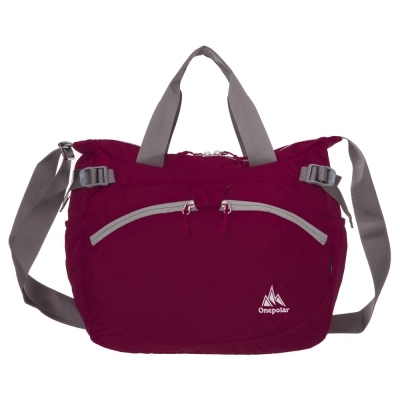 ONE POLAR側背包-紅色PL05220RD