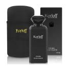 (即期品)Korloff 黑鑽神話 男性 (PRIVATE) 淡香水88ml+包包