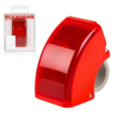 BOOKMAN-USB充電自行車尾燈-賽車紅