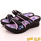 GP時尚涼拖-花漾晶鑽涼鞋款-SE535W-41黑紫(女段)