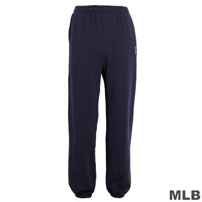 MLB-華盛頓國民隊縮口繡花厚長褲-深藍(男)