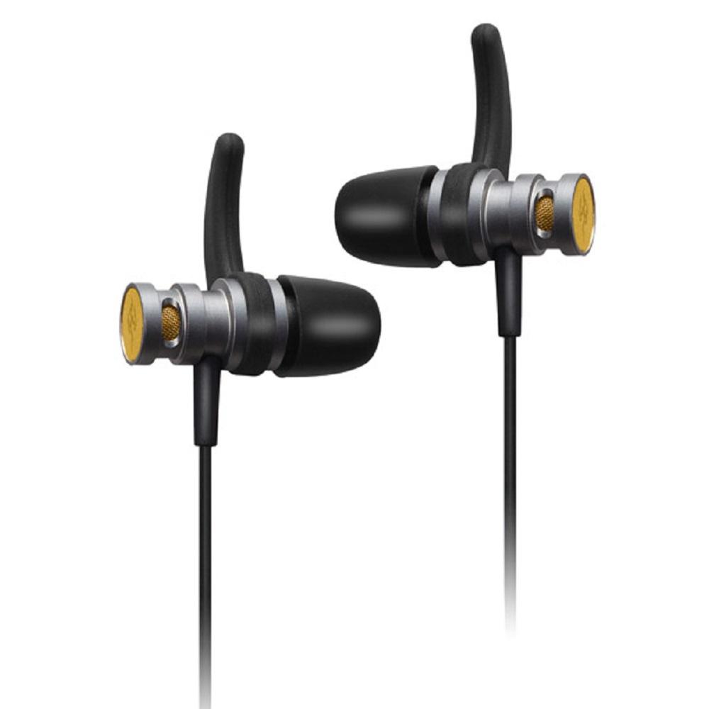 T.C.STAR 鋁合金入耳式帶麥耳機/黑色 (TCE6120BK)