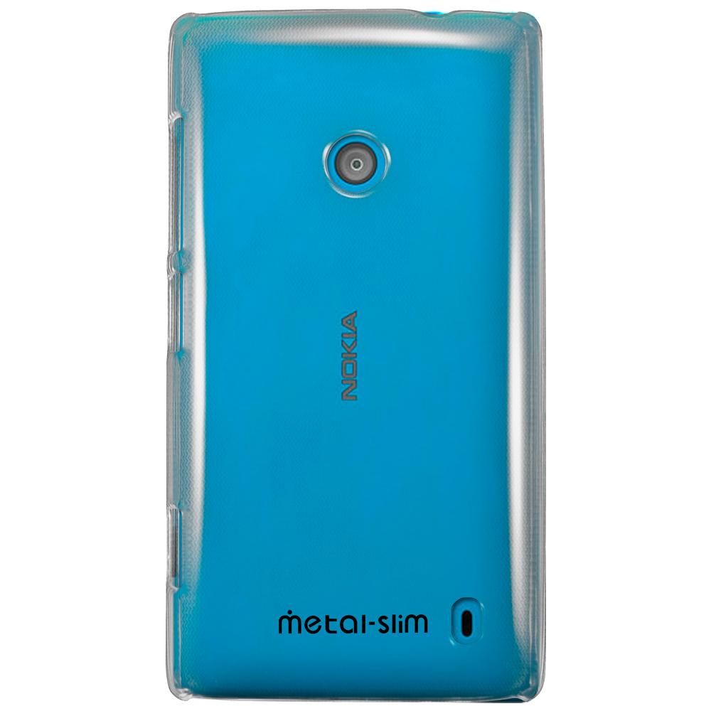 Metal-Slim Nokia Lumia 520 PC透明系列 新型保護殼