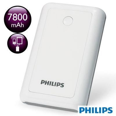 PHILIPS 7800mAh 2.1A 雙輸出行動電源(限時特賣)