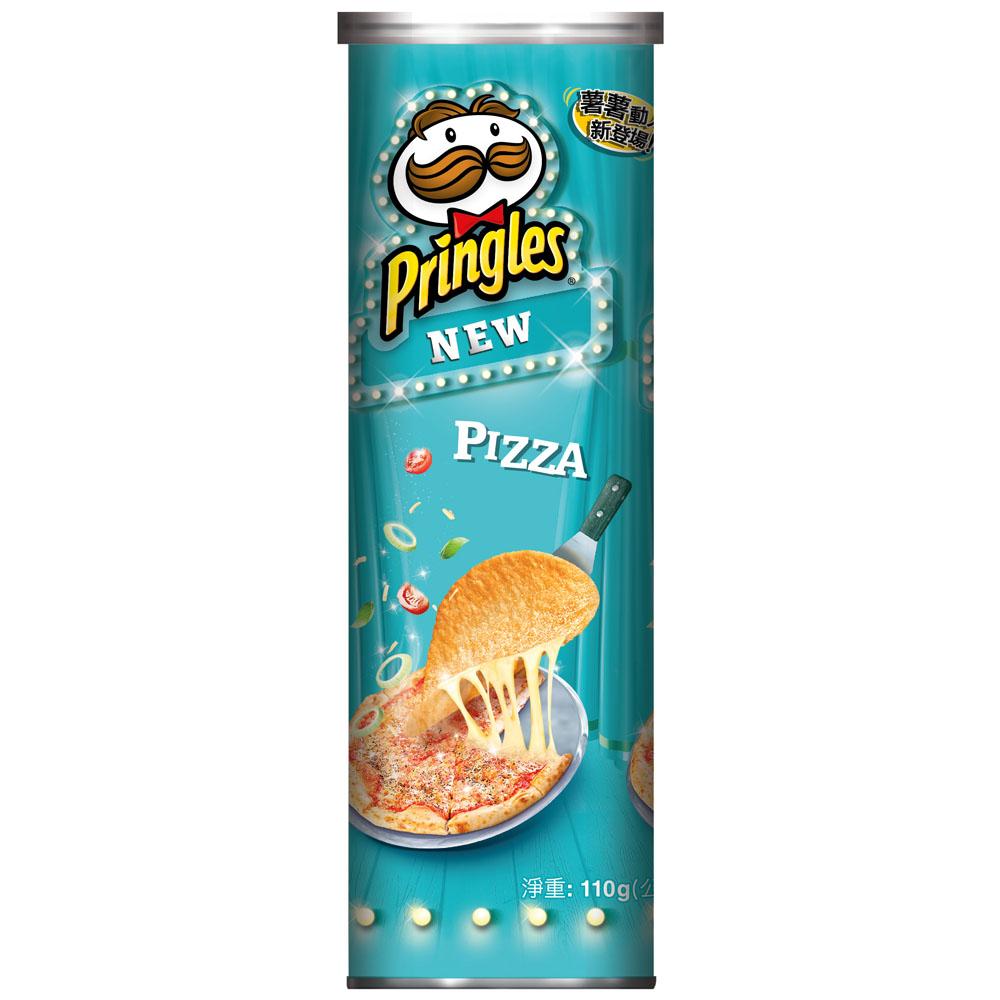 Pringles品客 洋芋片-批薩(110g)