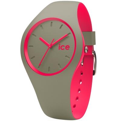 Ice-Watch 玩色系列 炫彩新時尚手錶-灰x桃紅/41mm