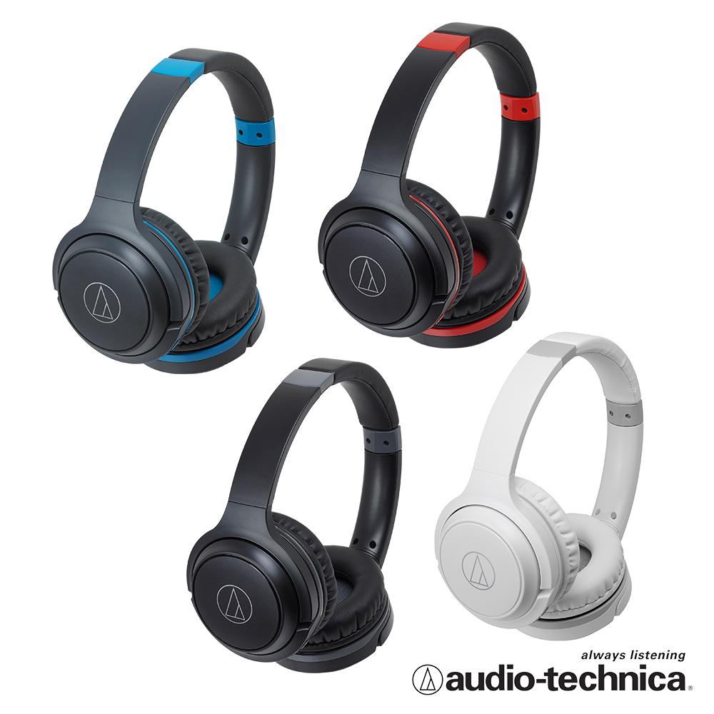 鐵三角ATH-S200BT 無線藍牙耳罩式耳機