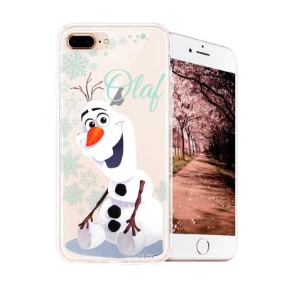 冰雪奇緣展場限定版 iPhone 8 plus/7 plus空壓殼(雪花雪寶)